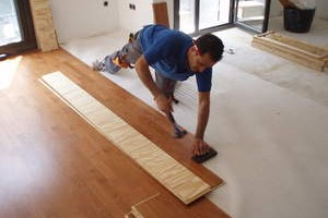 Instalador pavimentos de madera