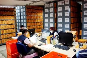 Control de archivos y documentos